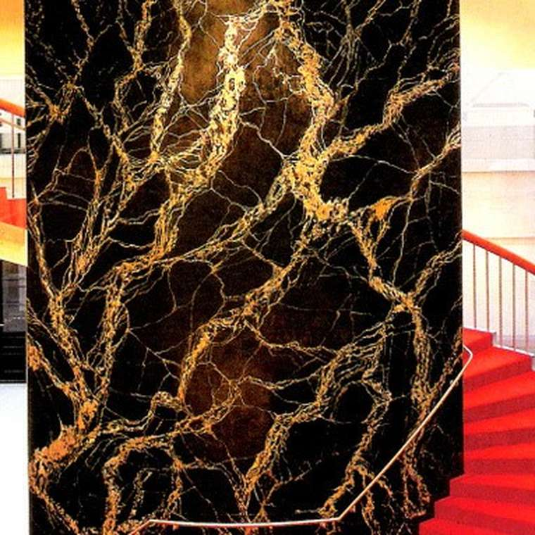 Marmor Imitation m GoldAdern